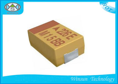 Large Size Solid Tantalum Chip Capacitors 33μF - 1500μF Case E For Electronic Products